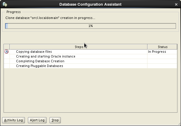 Oracle 12c installation on Oracle Linux release 6 - Database Configuration Assistant