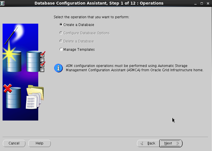 Oracle 11gR2 installation on Oracle Linux 6.5 - Create database