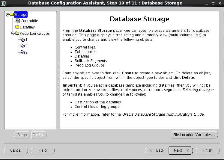 Oracle 11gR2 installation on Oracle Linux 6.5 - Database Storage