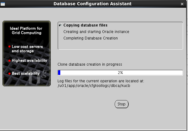 Oracle 11gR2 installation on Oracle Linux 6.5 - Database Configuration Assistant