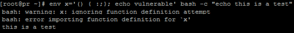 Bash Code Injection Vulnerability CVE-2014-7169