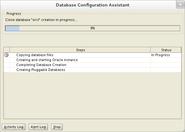 Installation of Oracle 12c on Oracle Linux 7 - Database Configuration Assistant