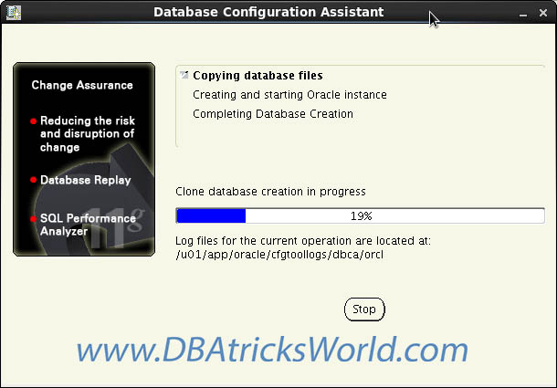 Oracle 11g Release-2 installation on CentOS 6.x - Database Configuration Assistant